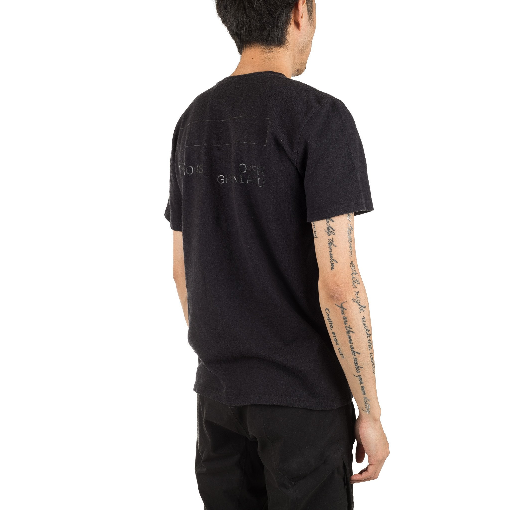 Arc Hemp Tee HPS10001 Black