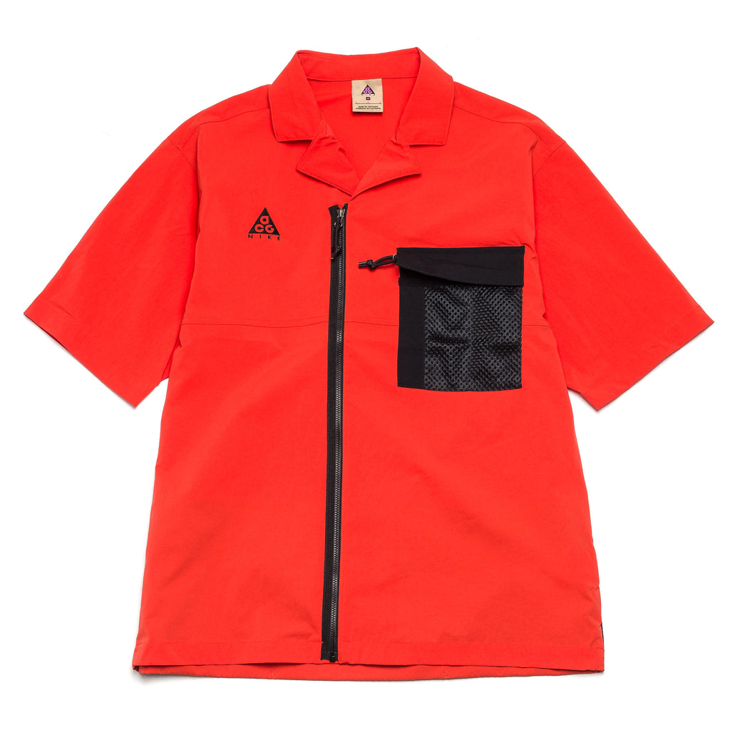 Nike ACG Zip Shirt CI0414-634 Red Pepper