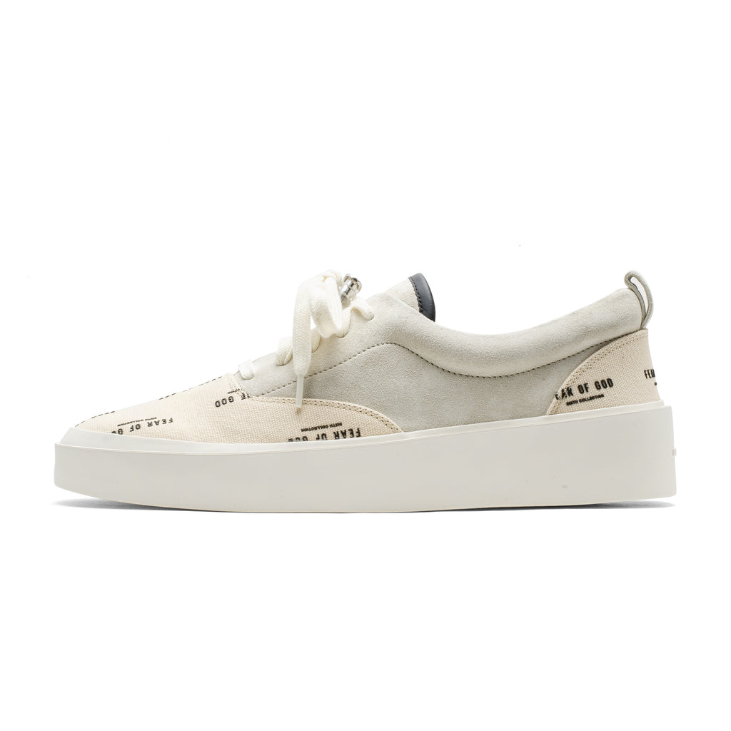 Era Lace Up Sneaker 101 Print FOG Cream
