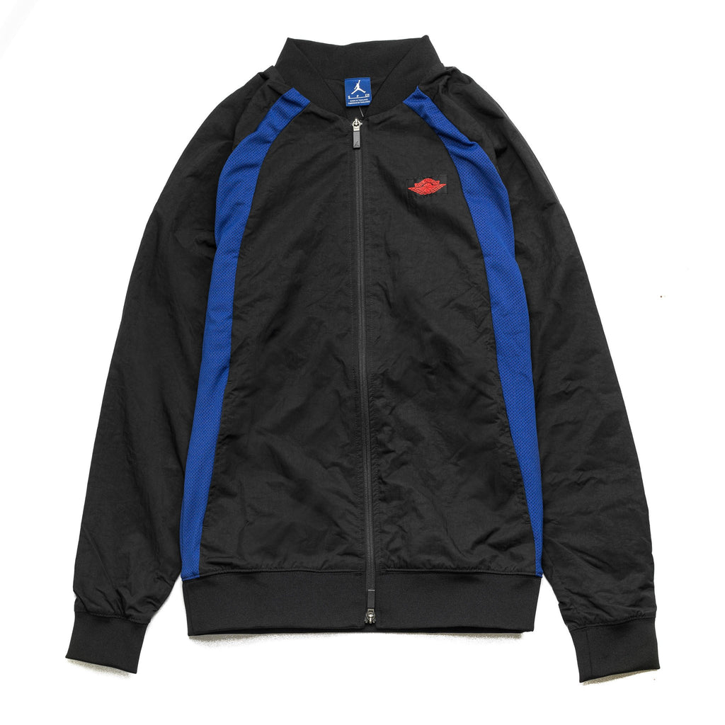 AJ 1 WINGS JACKET TZ 872861-010 Black/Blue