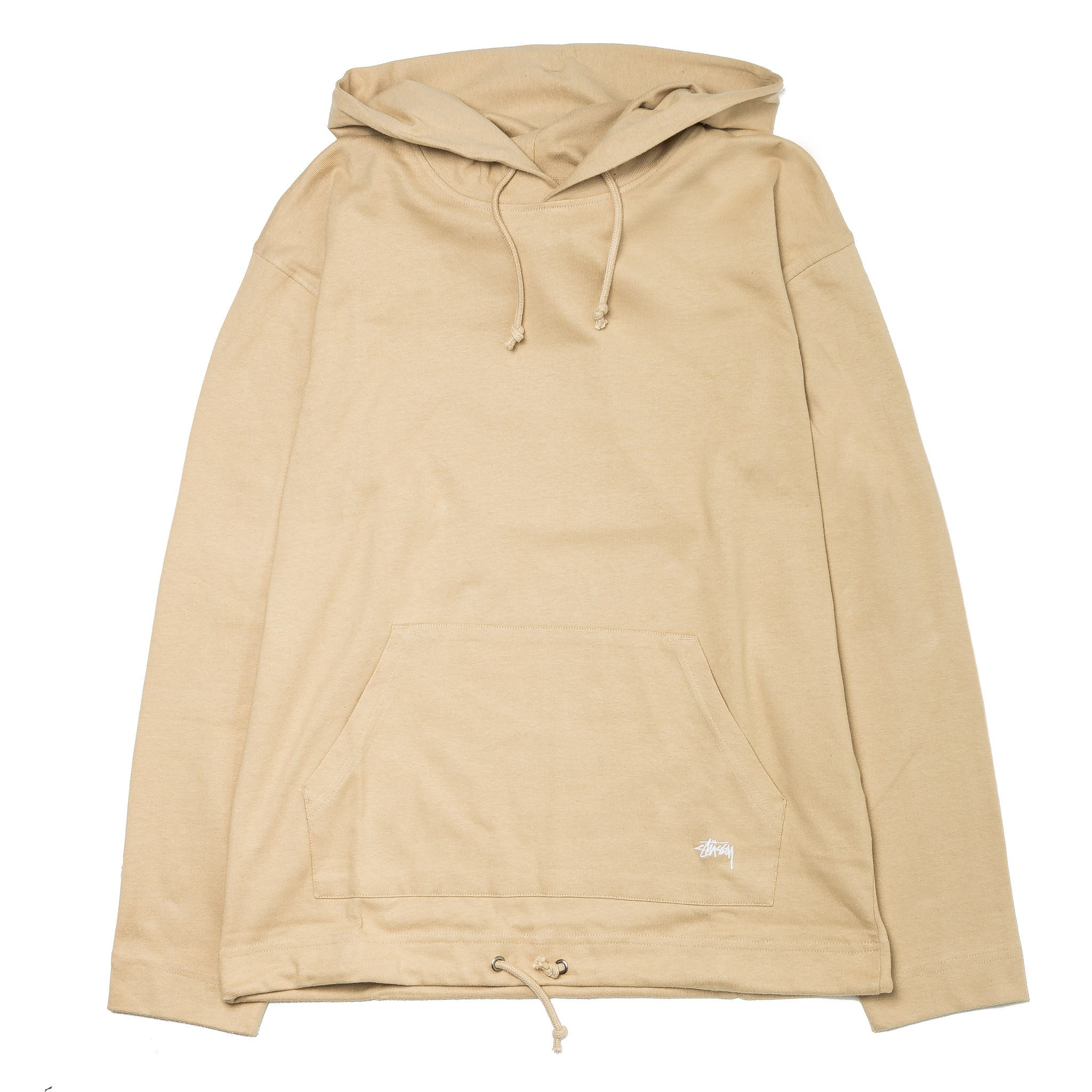 Heavy Hooded Jersey Khaki