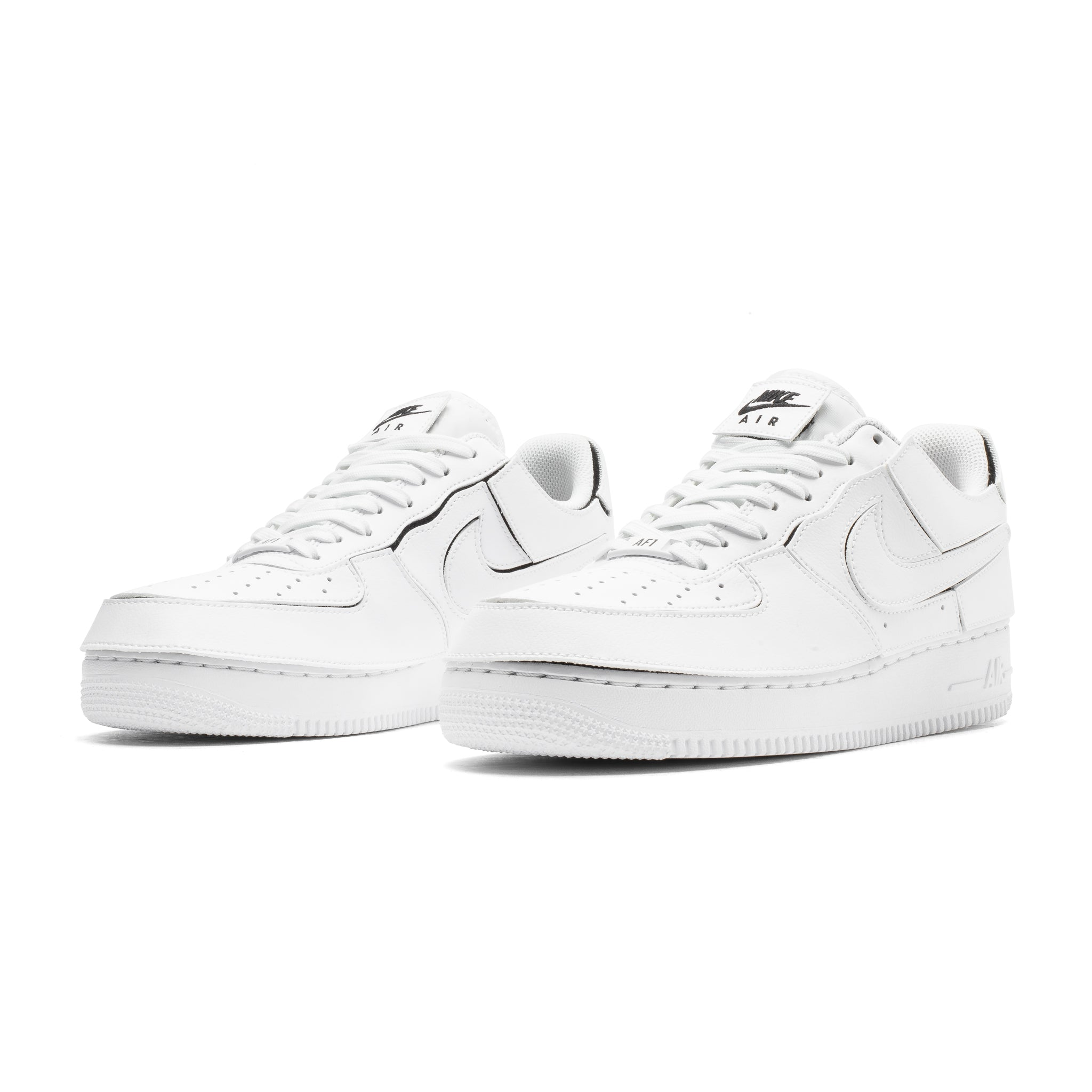 AF1/1 CZ5093-100 White/White-Black-Cosmic Clay