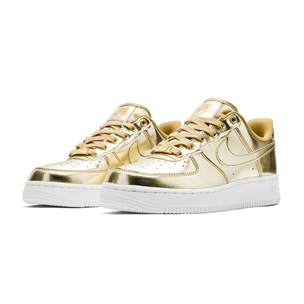Wmns Air Force 1 SP CQ6566-700 Metallic Gold
