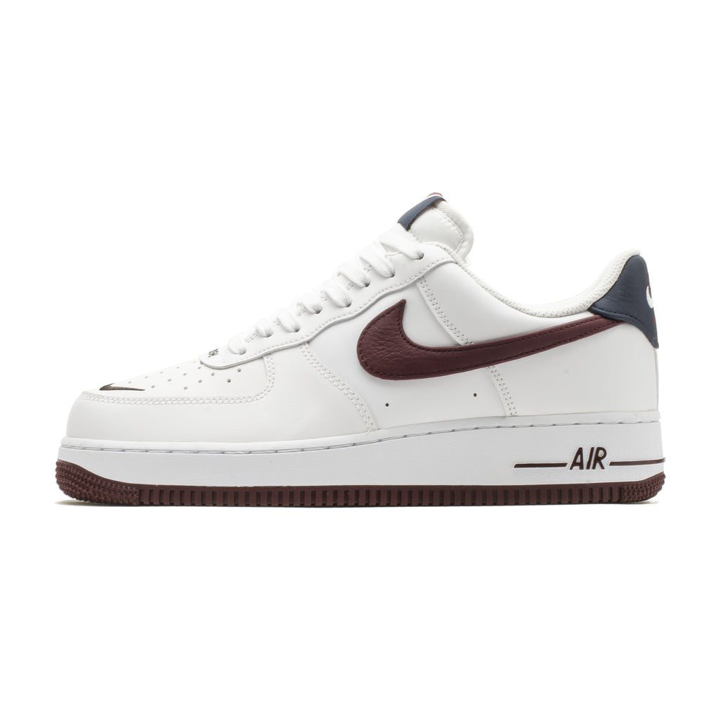 Air Force 1 CJ8731-100 White/Night Maroon-Obsidian