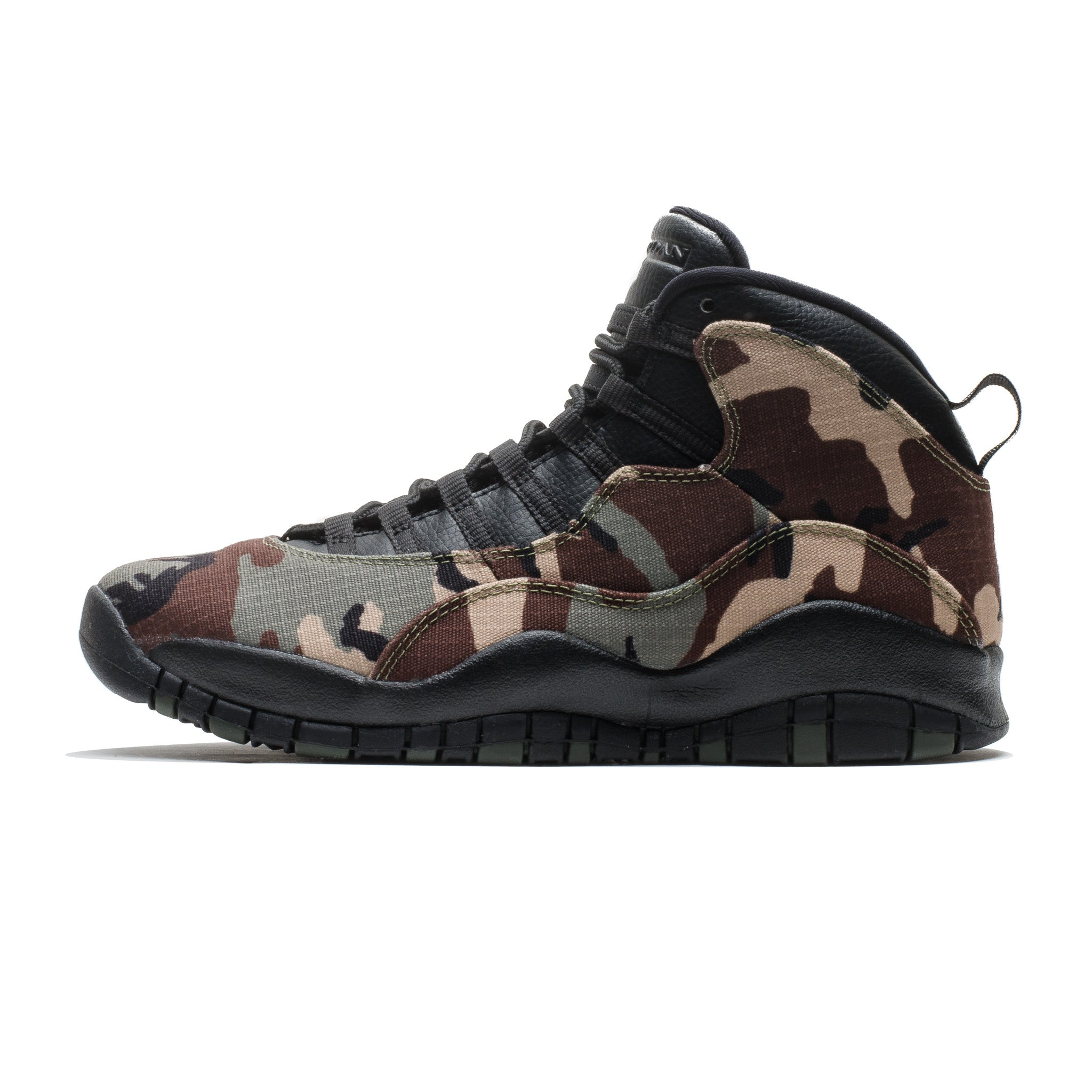 Air Jordan 10 Retro 310805-201 Woodland Camo