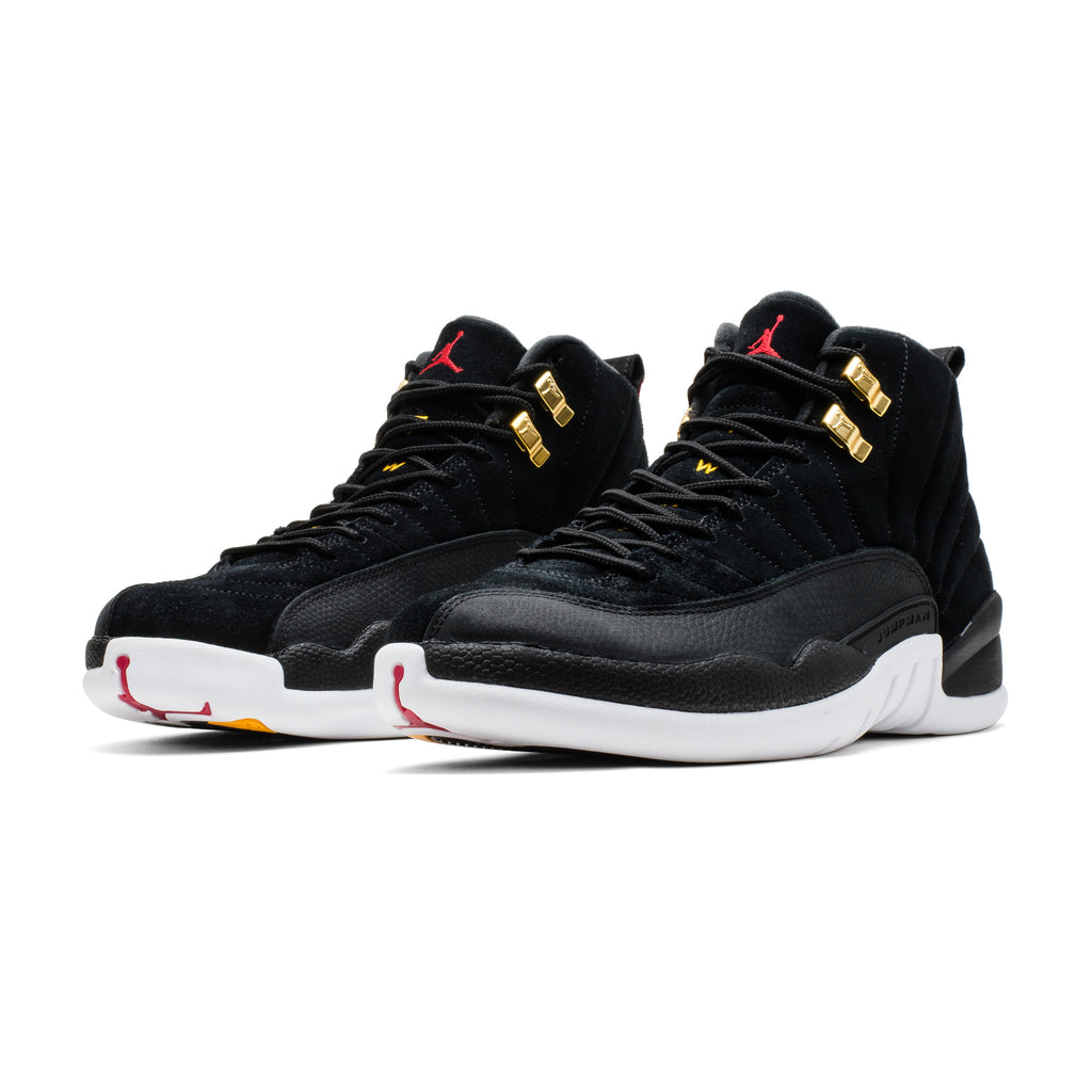 Air Jordan 12 Retro 130690-017 Black