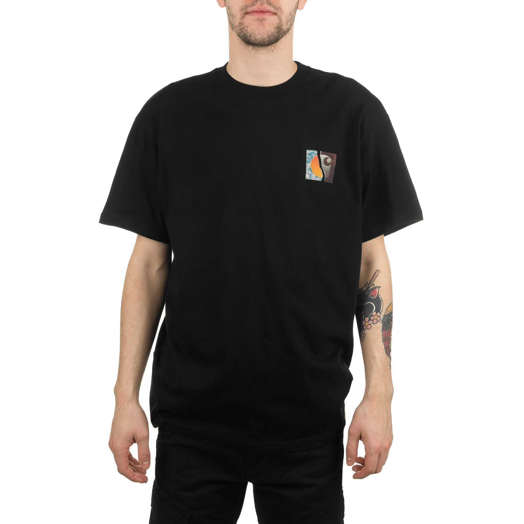 S/S Backpages Tee Black I027757