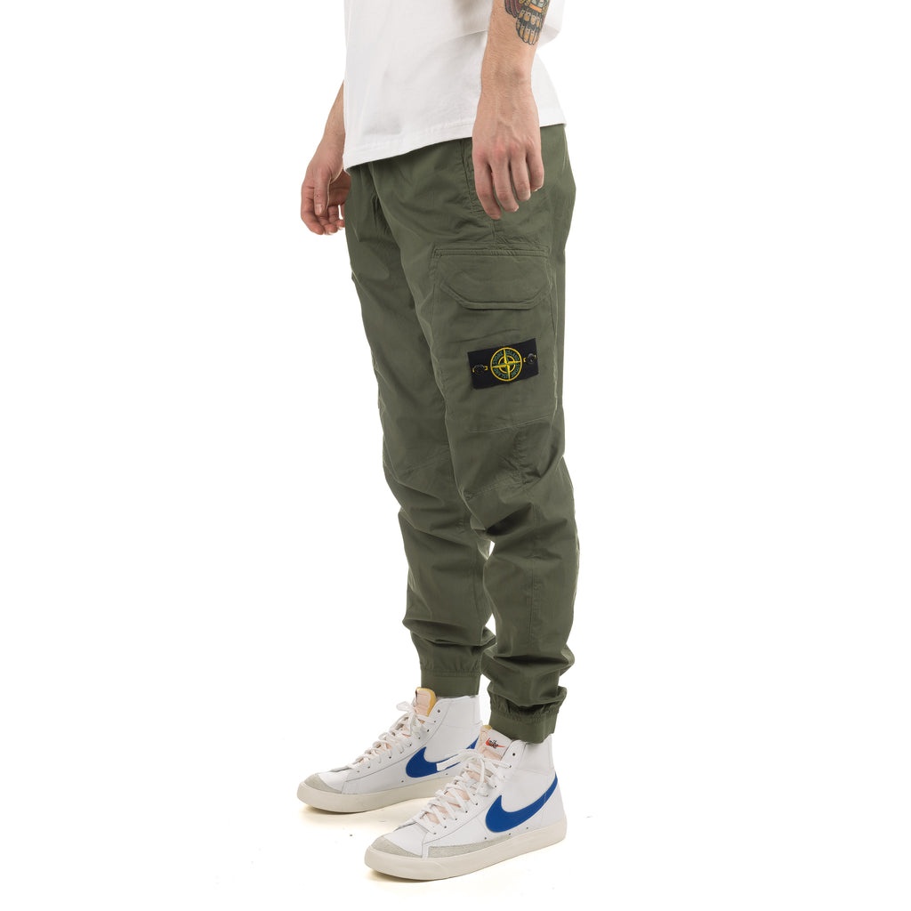 Flap Pockets Cargo Pant 721531403 Emerald