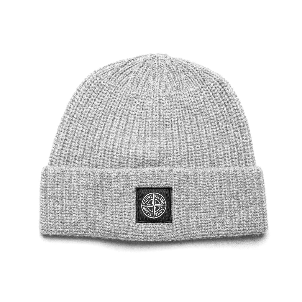 Patch Logo Knit Beanie 6915N10B5 Grey