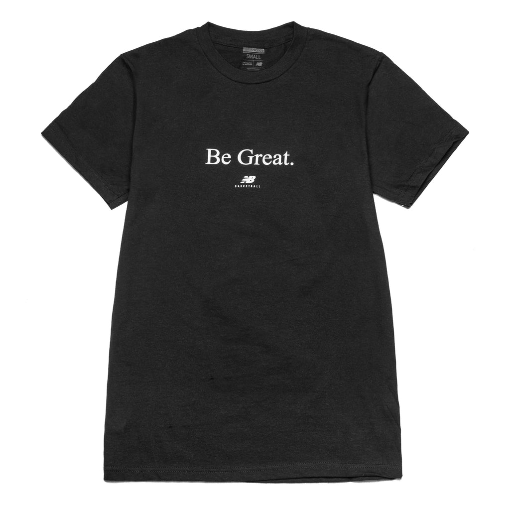 Be Great Tee Black