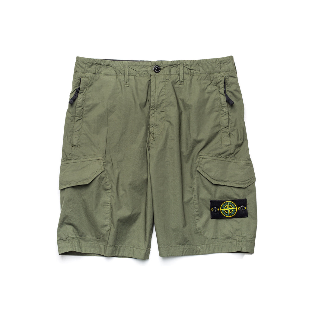 Bermuda 5-Pocket Shorts 7215L0403 Olive
