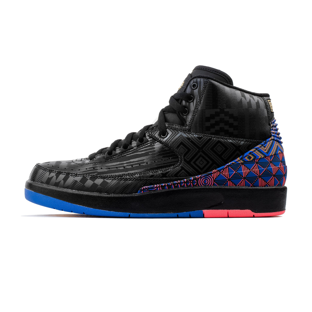 Air Jordan 2 Retro BHM BQ7618-007 Black