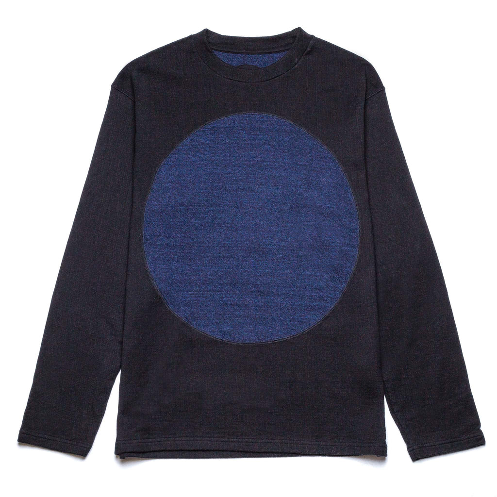 Big Circle LS Pullover 83291 Black