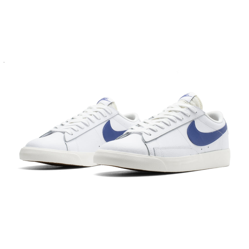 Blazer Low Leather CI6377-107 White/Blue