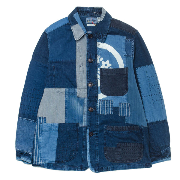 Patchwork Coverall Jacket