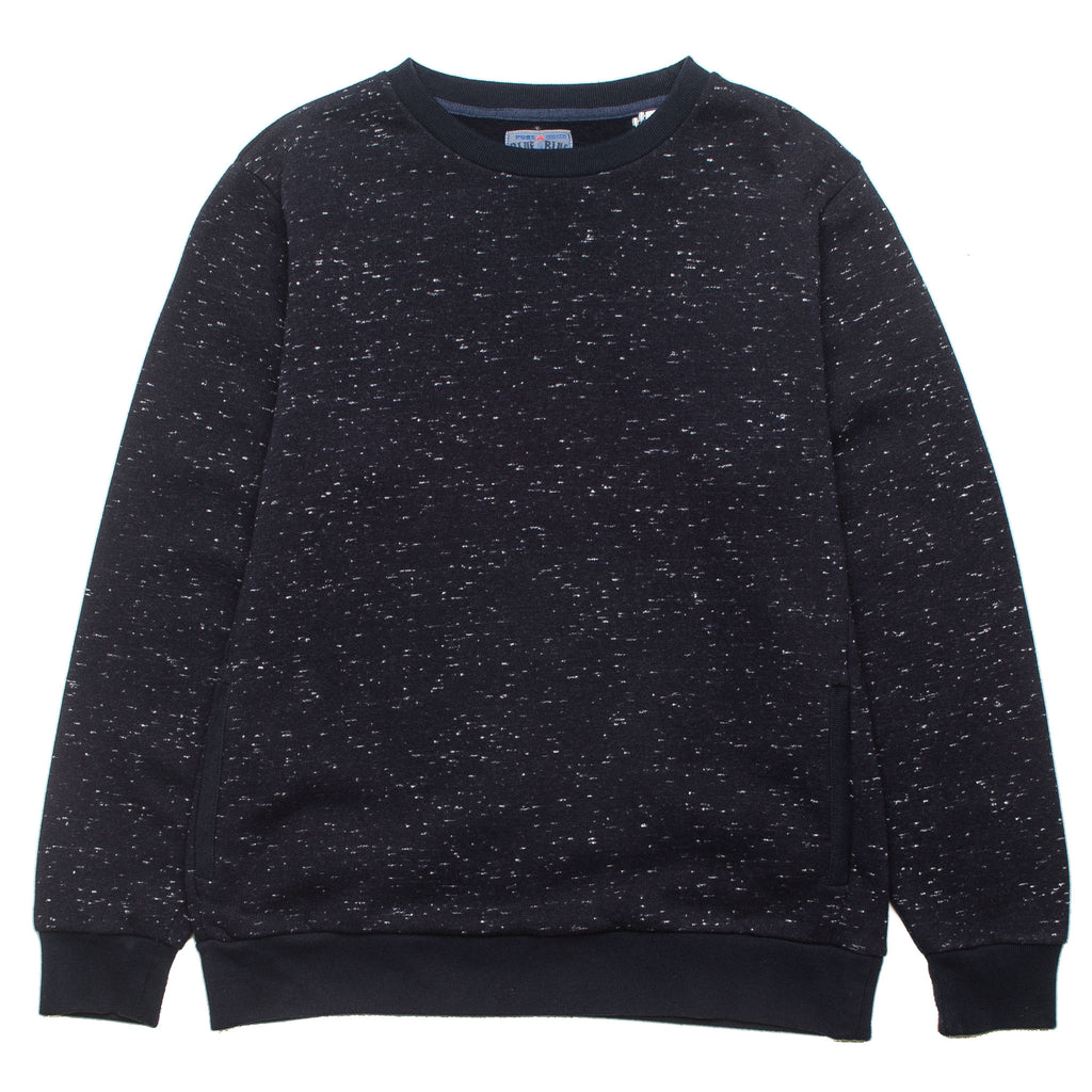 Snow Gradation Back Crewneck Navy 700070610