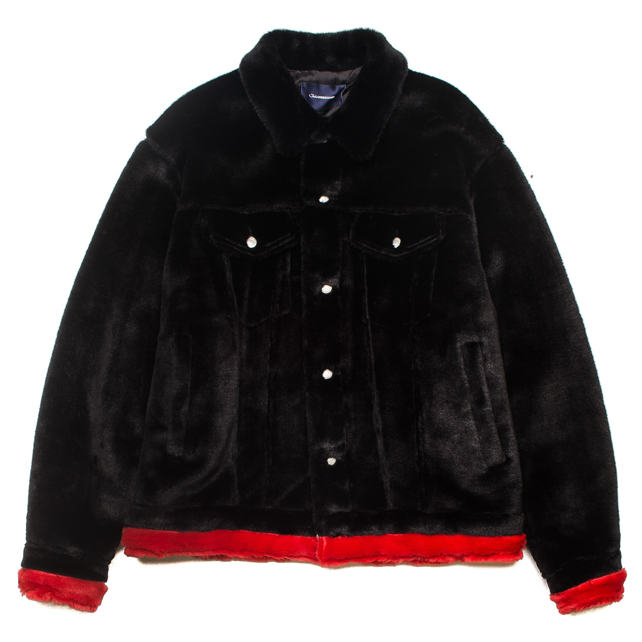 Big Trucker Jacket JUV4205-1 Black