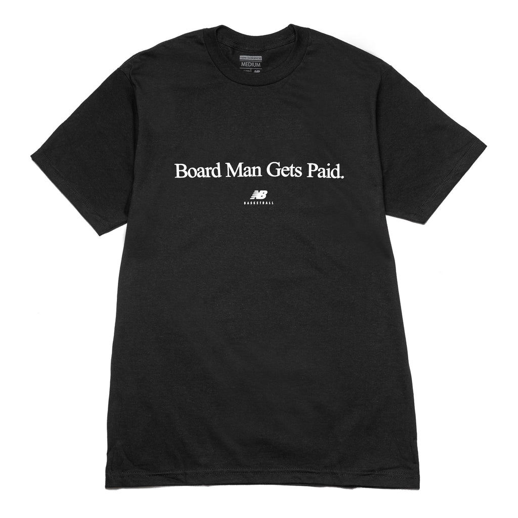 Board Man Gets Paid Tee Black