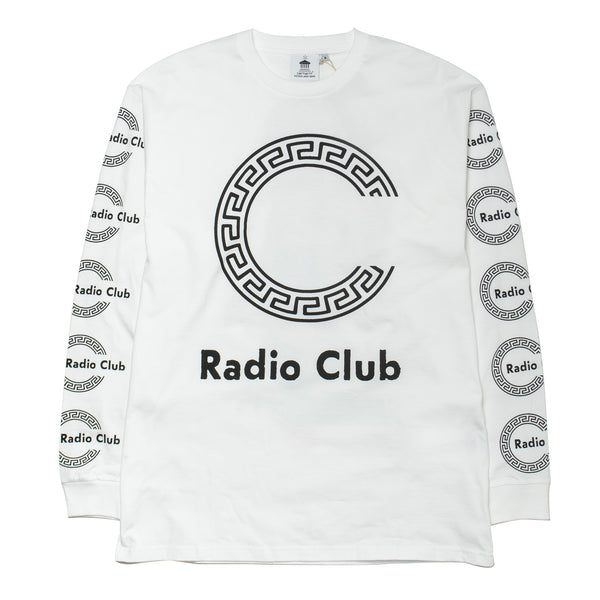 L/S Radio Club Roma Tee White
