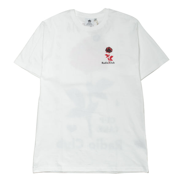 S/S Radio Club LA Tee White