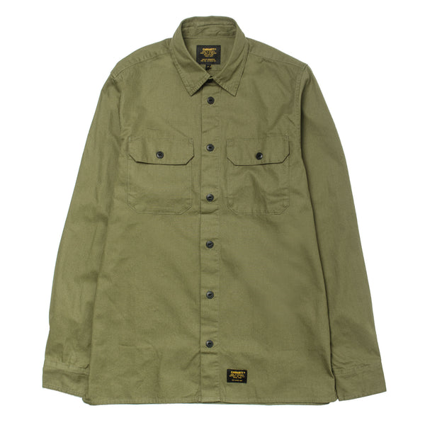 L/S Mission Shirt Rover Green