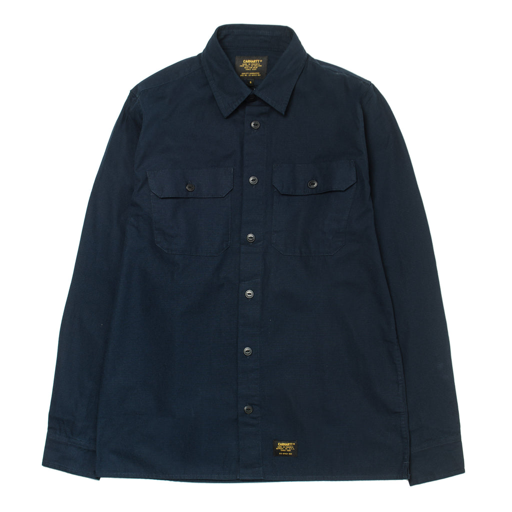 L/S Mission Shirt Navy