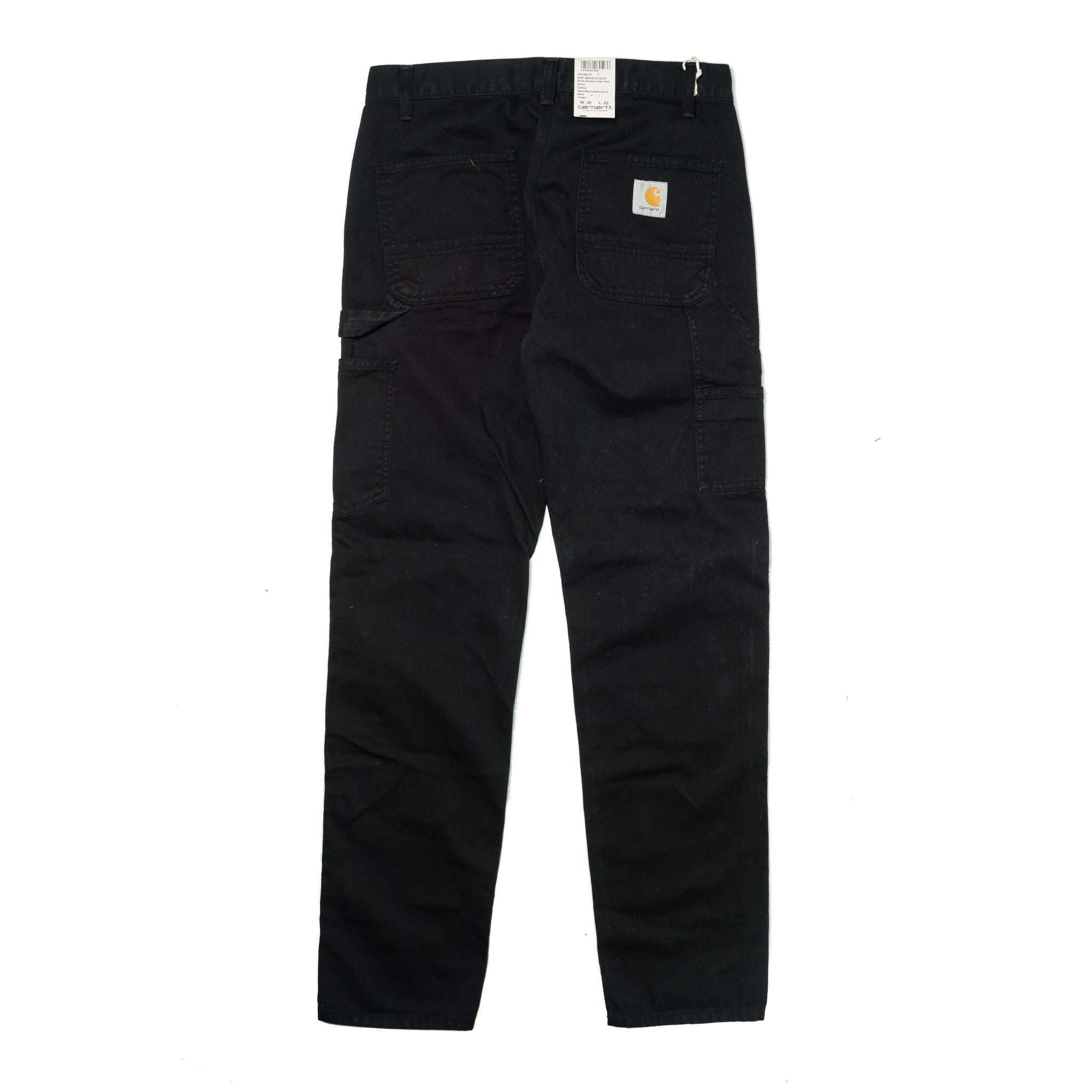 Ruck Double Knee Pant Black