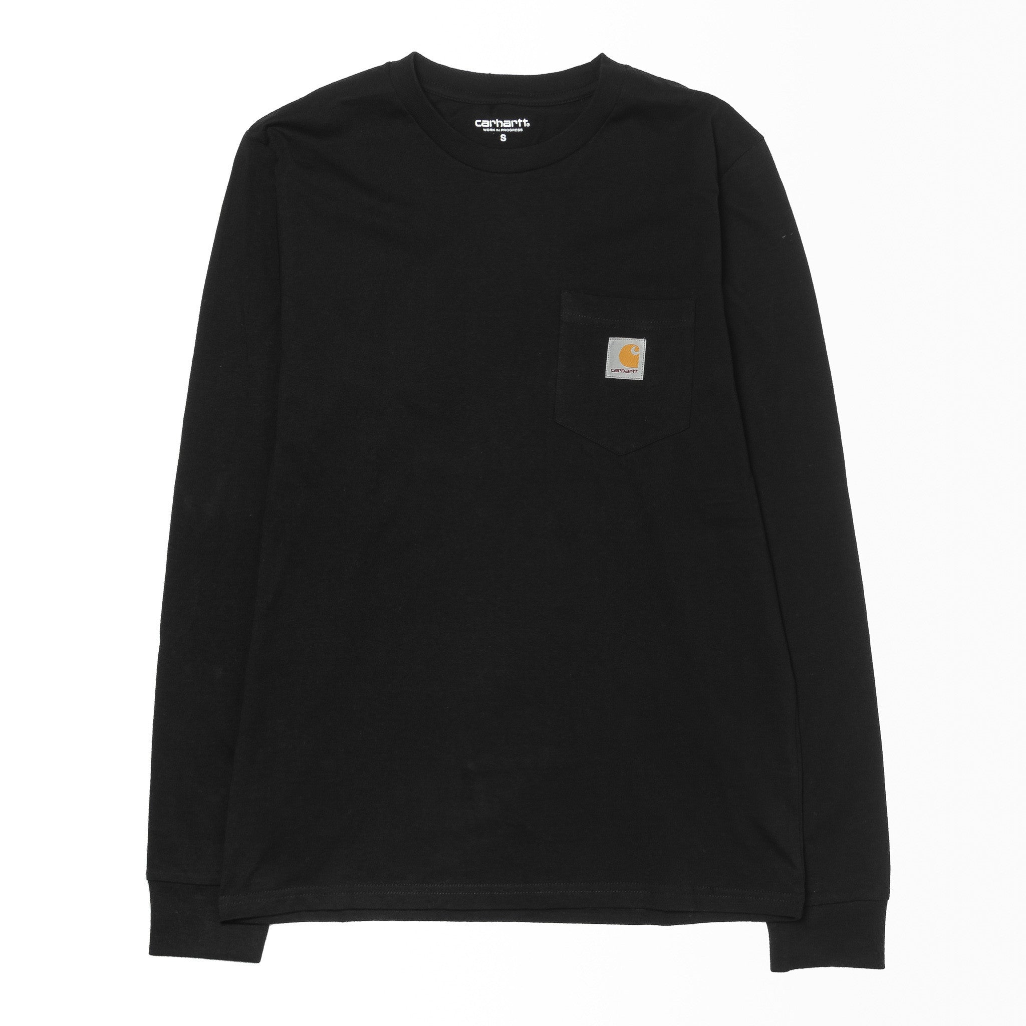 L/S Pocket Tee Black