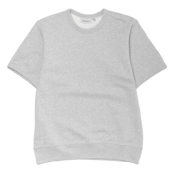 S/S Strike Sweat Grey Heather