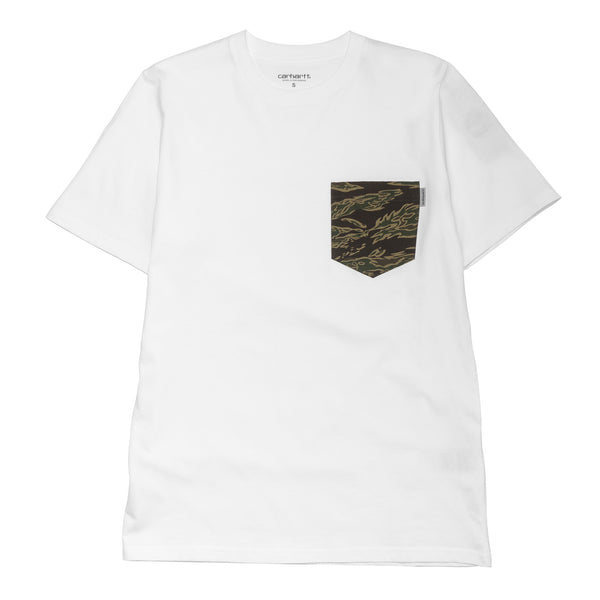 S/S Lester Pocket Tee SS17 White Camo