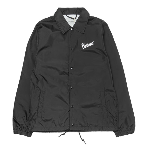 Strike Coach Jacket Black
