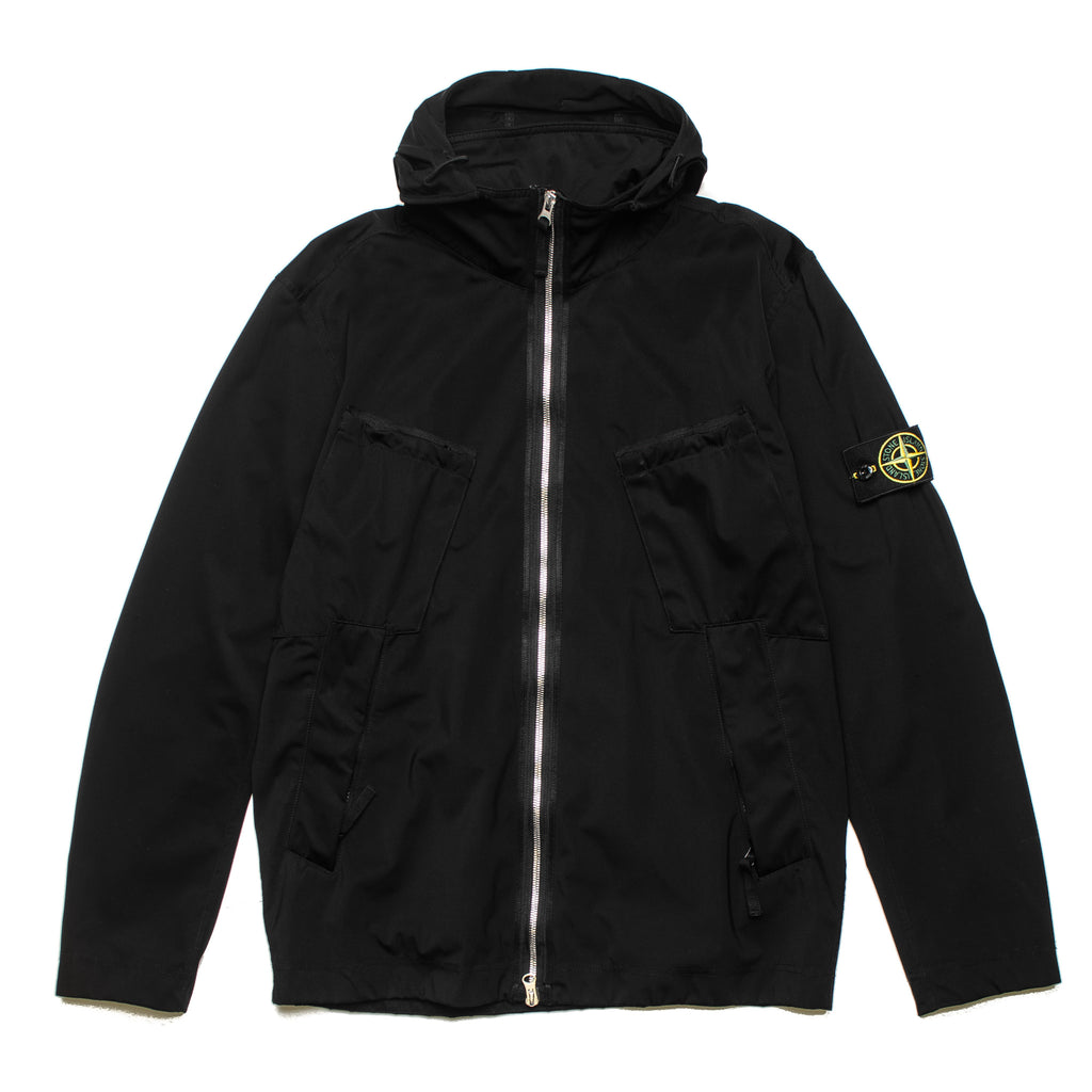 Garment Dyed Nylon Jacket 701542229 V0029 Black