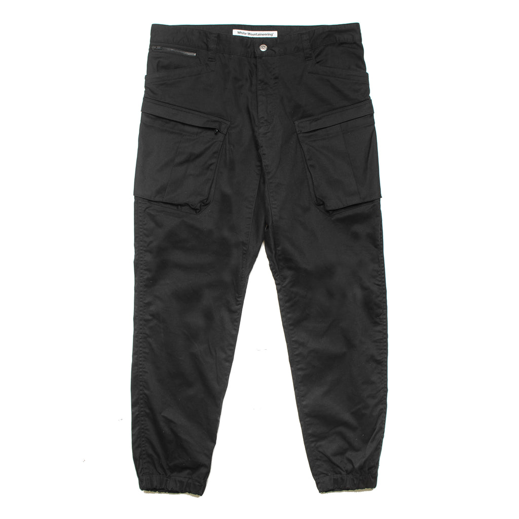 Twill Stretch Tapered Cargo WM1971416 Black