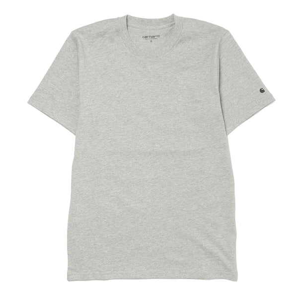 S/S Base Tee Heather Grey