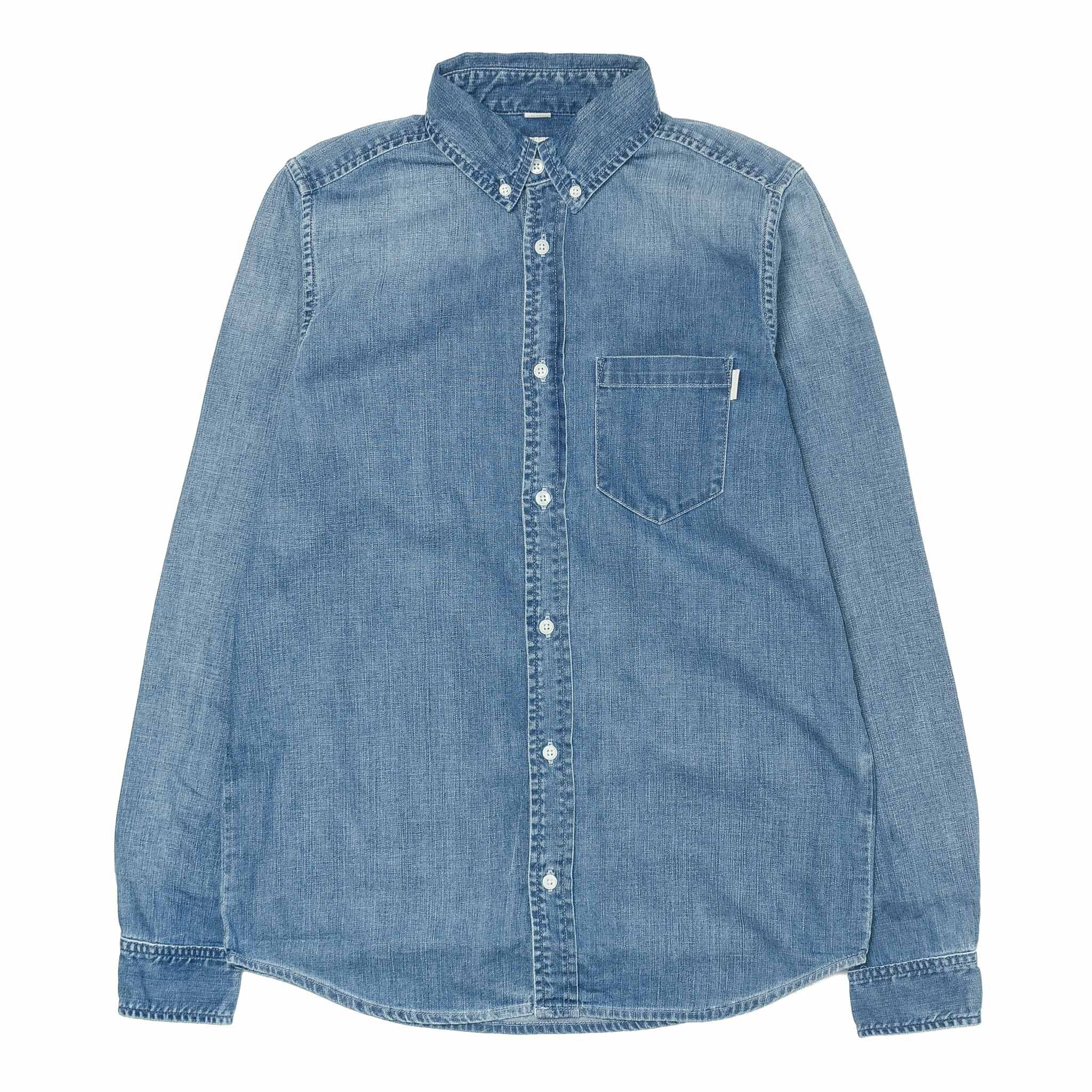 L/S Civil Shirt Fidelity Wash Blue