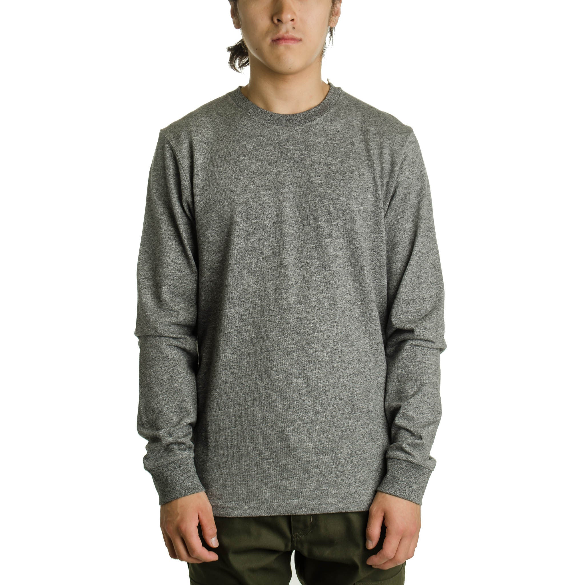 L/S Holbrook Tee Noise Heather Black