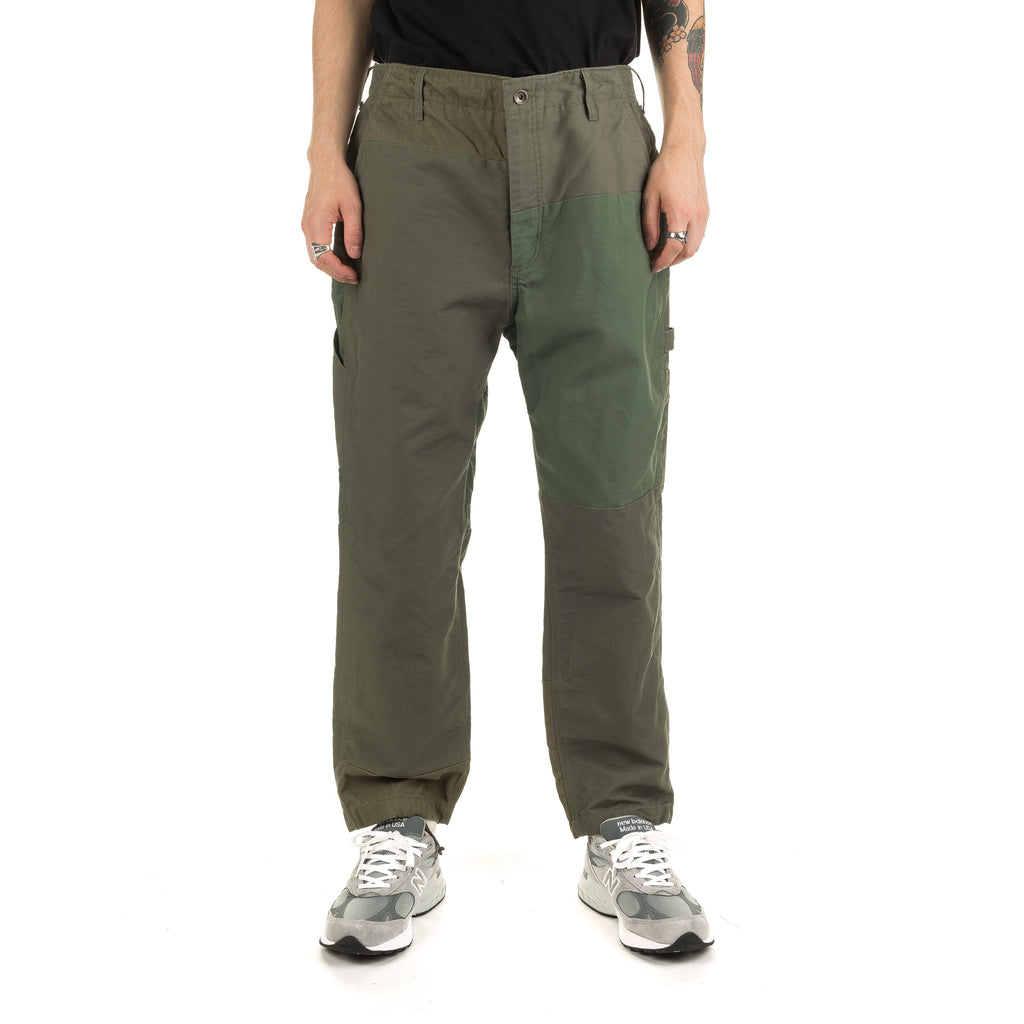 Painter Pant Double Cloth 19FF005 Olive