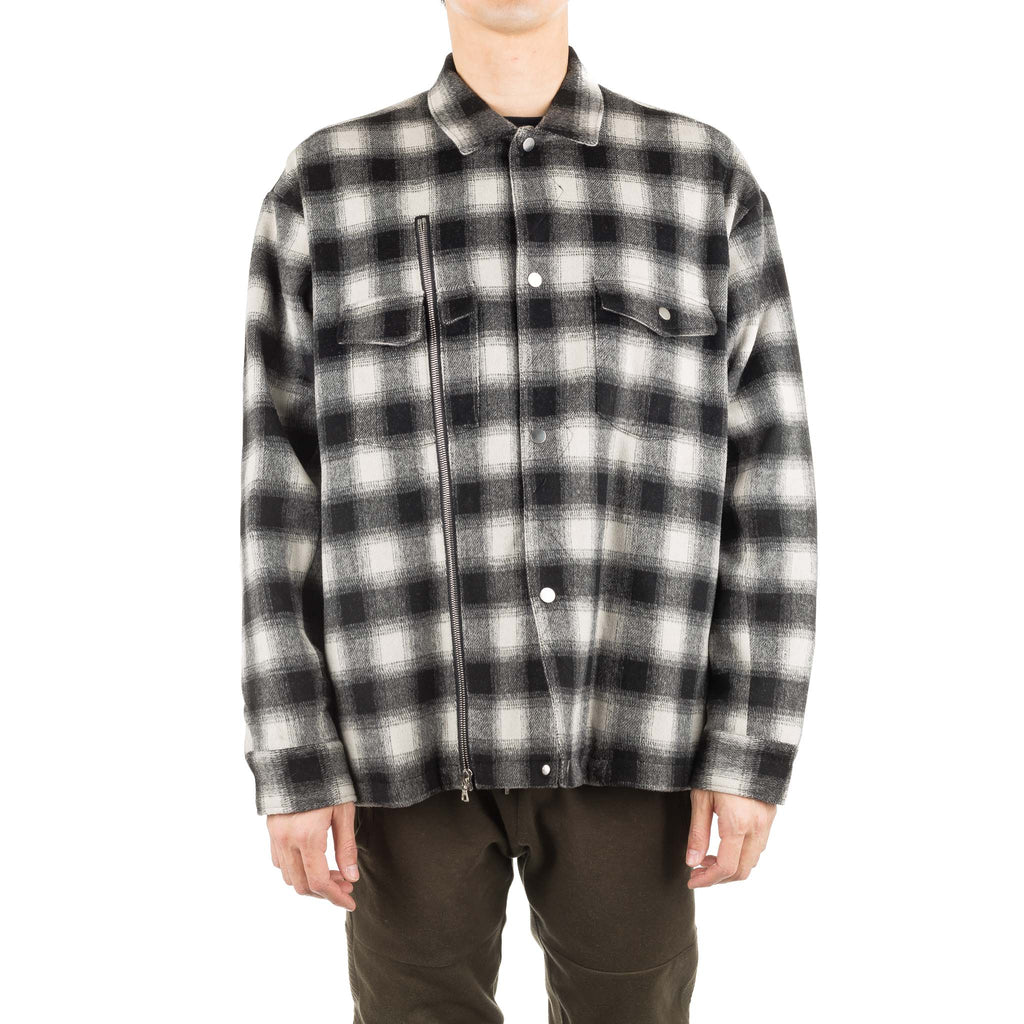 Asher Flannel Shirt Jacket Plaid