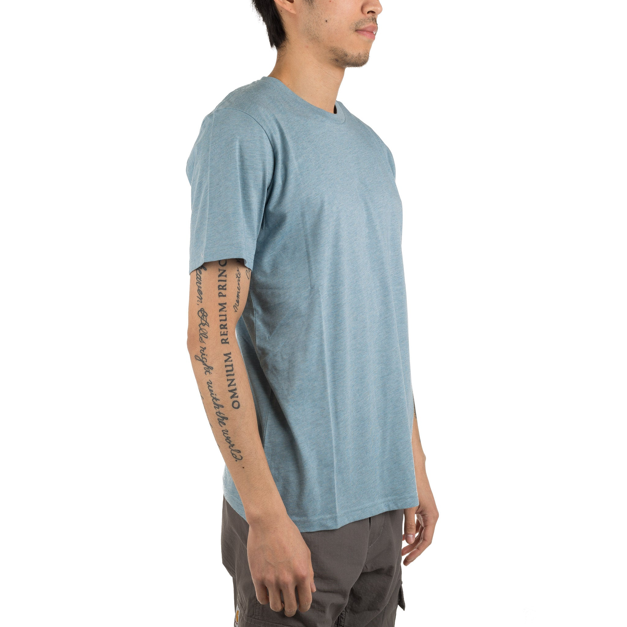 S/S Holbrook LT Tee Blue Heather