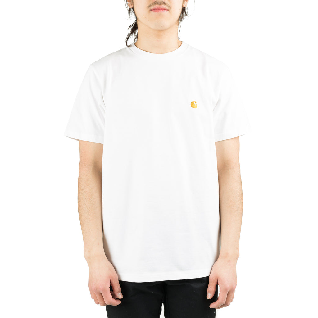 S/S Chase Tee White/Gold