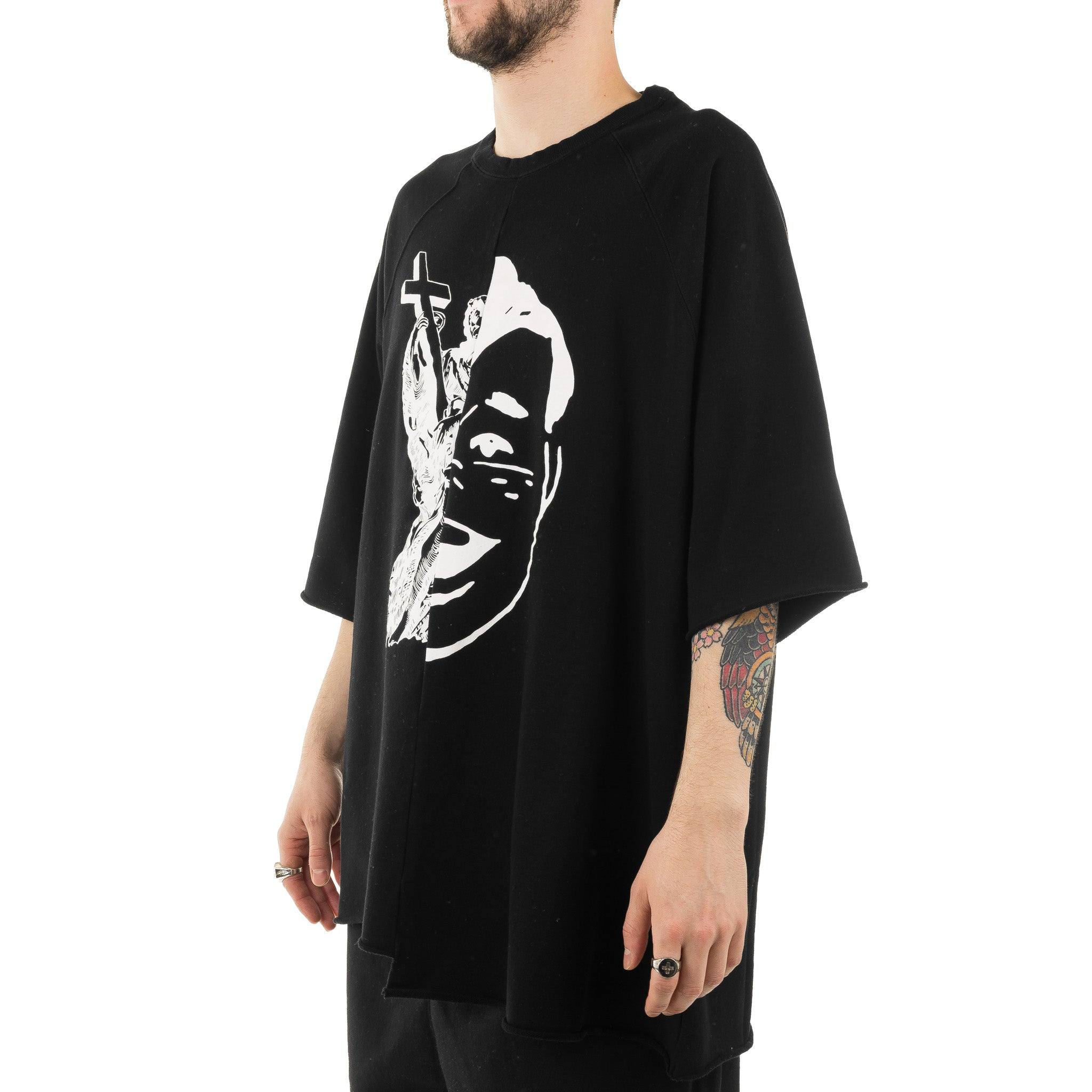 JohnUndercover Tee JUW4805-1 Black