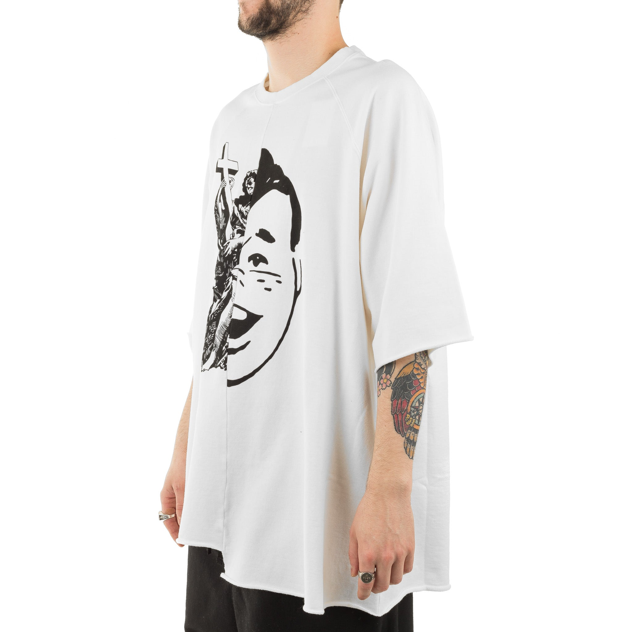 JohnUndercover Tee JUW4805-1 Off White