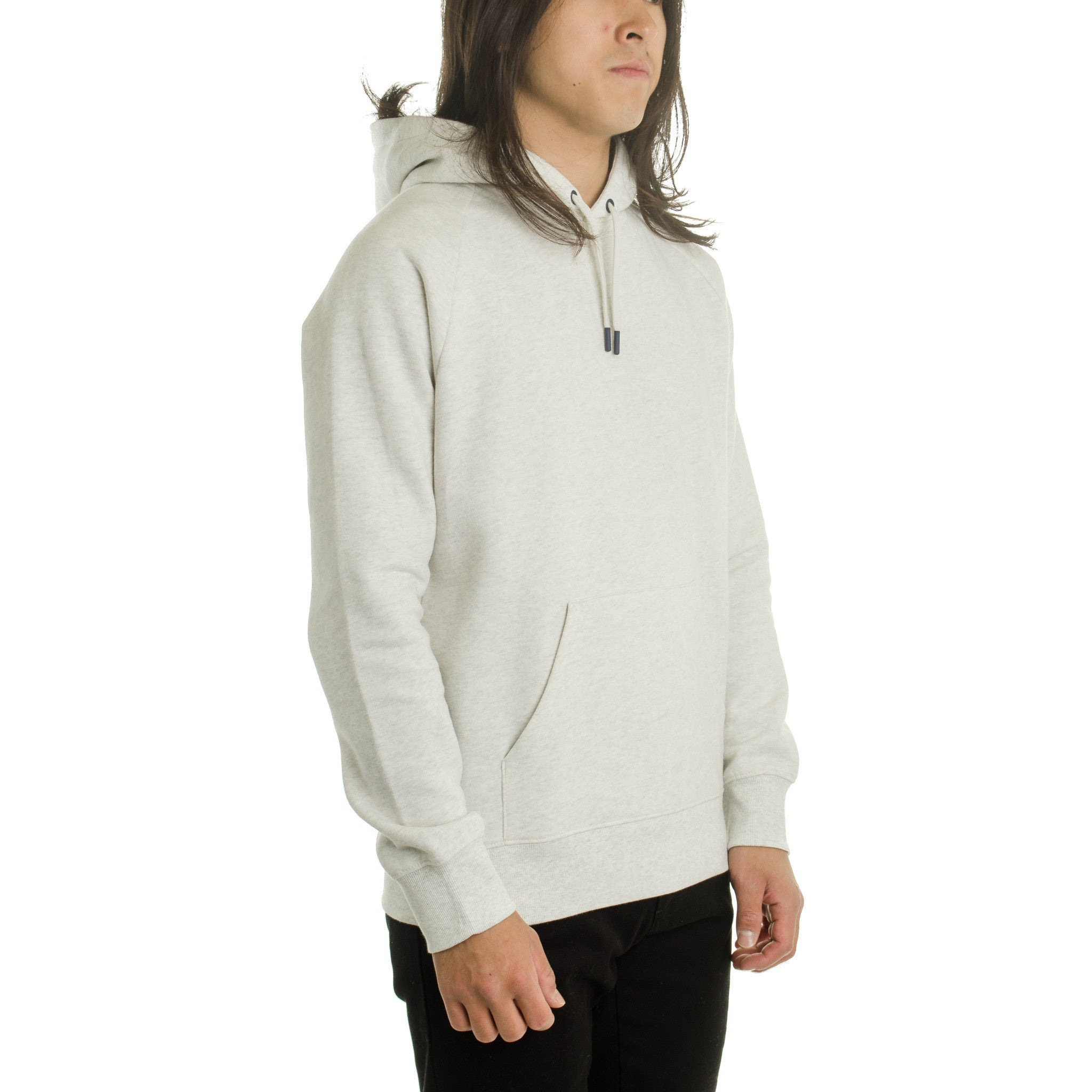 Hooded Holbrook Sweat Heather Snow