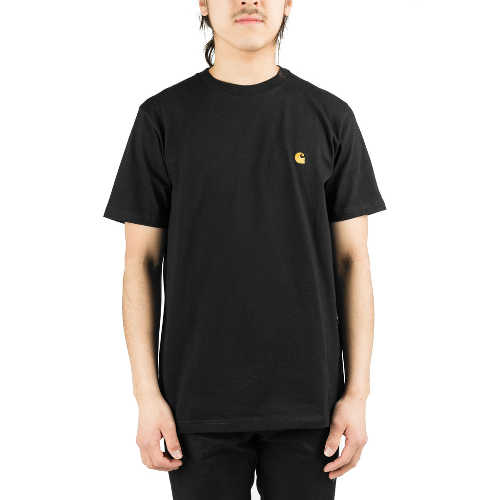 S/S Chase Tee Black/Gold