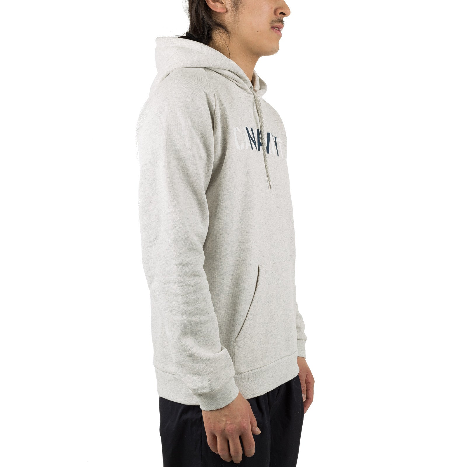 Hooded CA Training Sweat Ash Heather