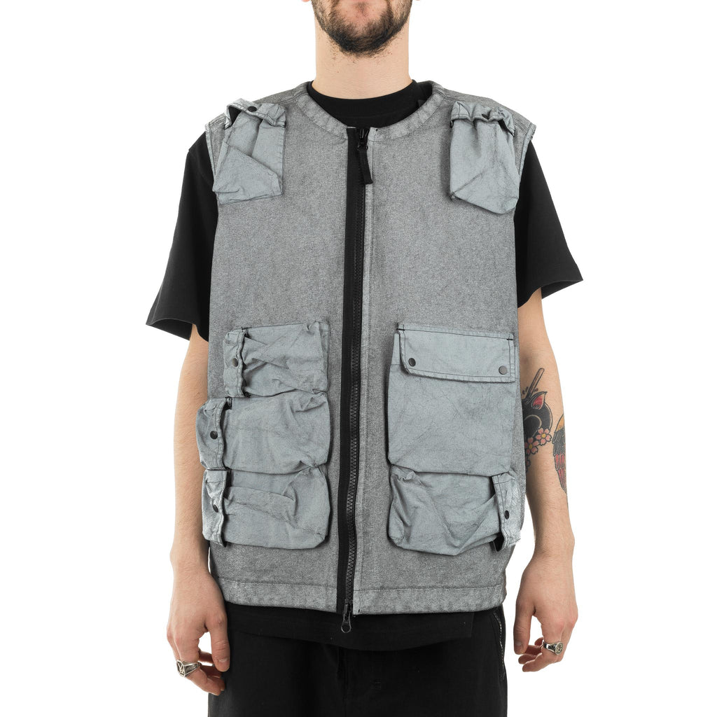 Canvas Placcato Vest 701564565 V0029 Frost