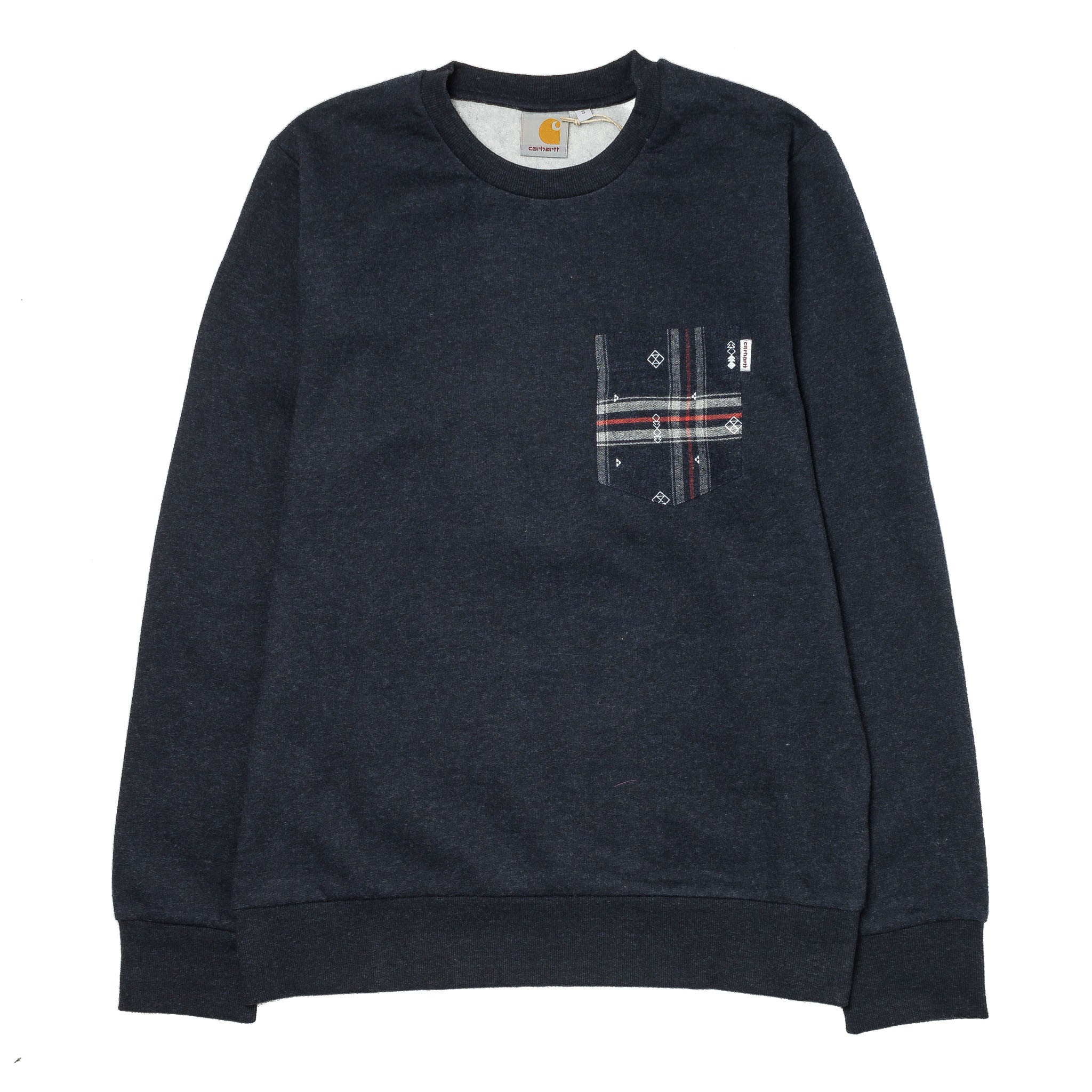 Eaton Pocket Sweat I015480 Navy