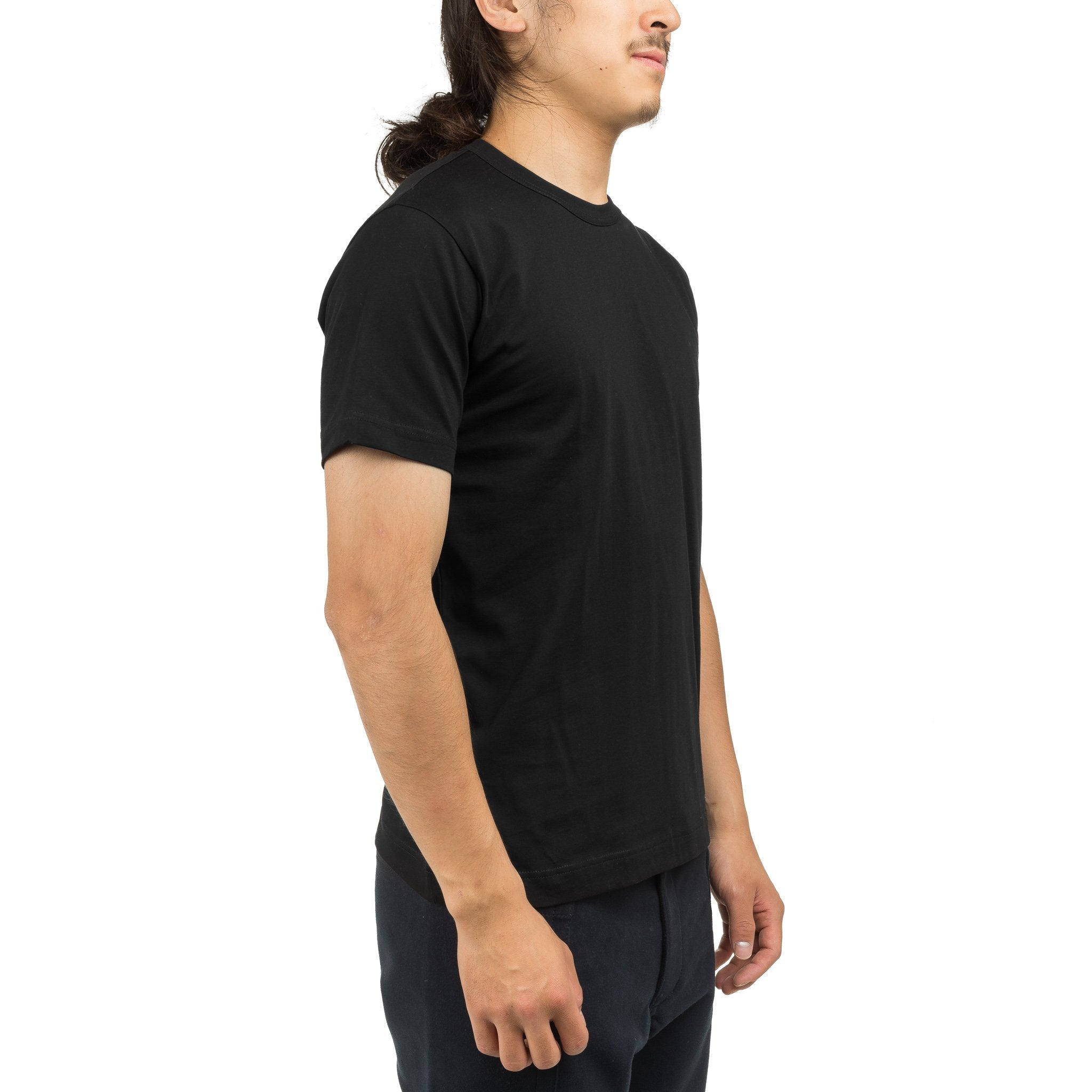 Short Sleeve Tee W25117A Black