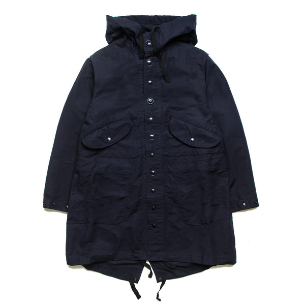 Highland Parka Cotton Double Cloth Navy