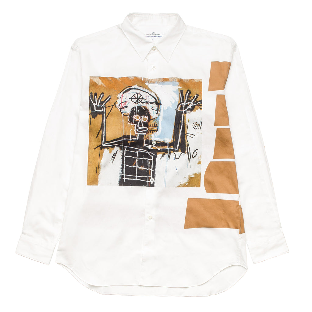 CDG Shirt x Basquiat Shirt 2 W26041